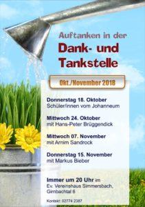 Dank- und Tankstelle @ Vereinshaus Girnbachtal | Eschenburg | Hessen | Deutschland