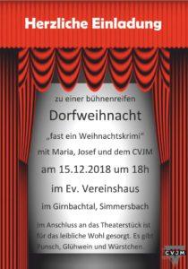 CVJM Dorfweihnacht @ Ev. Vereinshaus